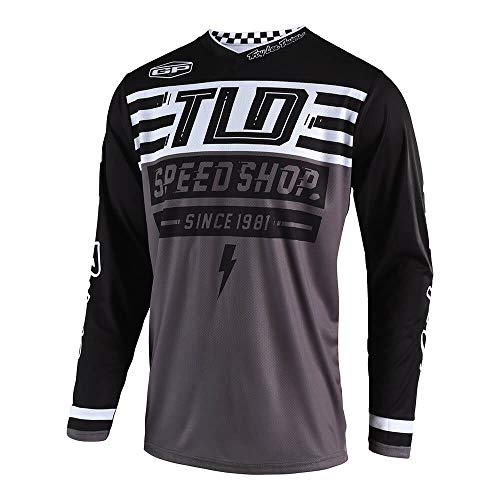 Youth Off Road Mens Jerseys - Troy Lee Designs Mens Off Road Motocross GP Air Jersey Bolt (Black, XX-Large)