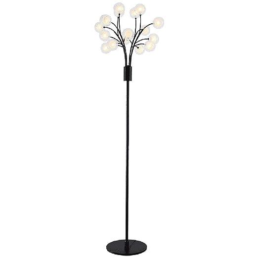 Amazon.com: Lámpara de pie LED vertical simple y moderna ...
