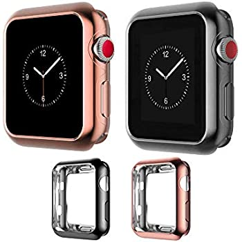 Amazon.com: AHXLL Compatible for Apple Watch 38mm 42mm, Mesh ...