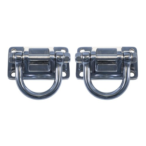 Rugged Ridge 11540.17 Stainless Steel D-Ring for XHD Bumper System - Pair