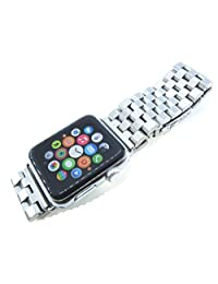 Apple Watch Bands 38mm Stainless Steel Solid Link Strap New Adaptor IWatch Band