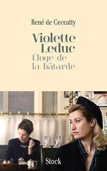 Violette Leduc par Ceccatty