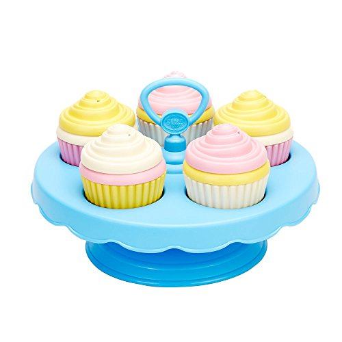 (Green Toys Cupcake Set)
