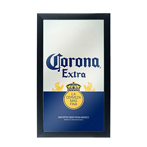 Trademark Gameroom Corona Extra Framed Mirror Wall Plaque 15 x 26 Inches - Can - by Corona