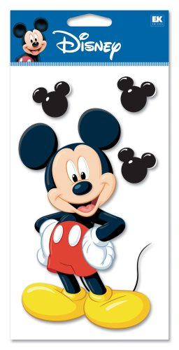 - Disney Jumbo Mickey Mouse Dimensional Sticker