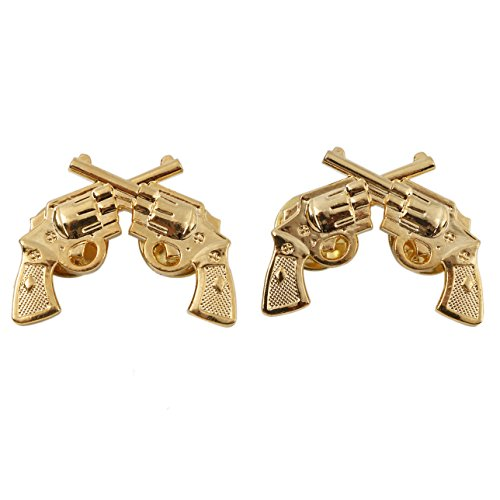 Heerpoint Reproduction Pair Of US Army Military Police Collar Insignia Badge