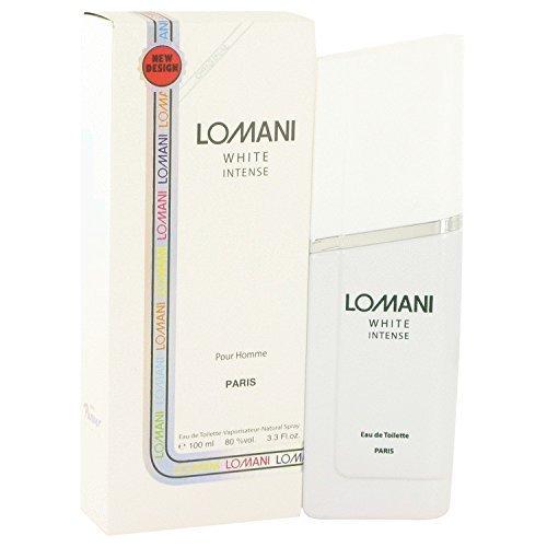 - Lomani Lomani Lomani white intense by lomani for men - 3.3 Ounce edt spray, 3.3 Ounce