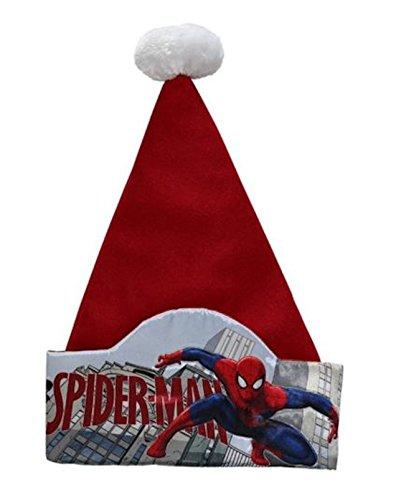 Disney 17in Marvel Spider Man Super Hero Santa Hat