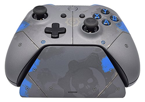 Controller Gear Official Xbox One Charging Stand. Gears of War 4: JD Fenix Limited Edition Design. Xbox Pro Charging Stand. Licensed and Patented. - Xbox One