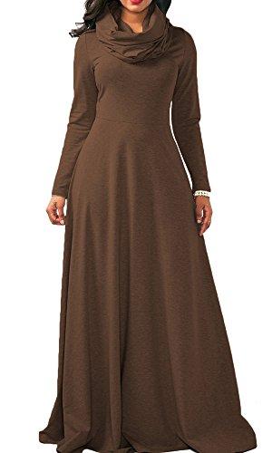 long full sleeve dresses - 1