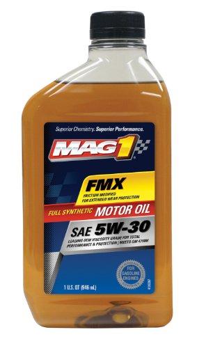 MAG1 61790-pk6 Full Synthetic 5W-30 SM Motor Oil - 32 oz., (Pack of 6) (Quaker State Synthetic Oil Vs Mobil 1)