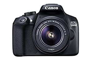 Canon EOS 1300D / T6 EF-S 18-55mm 18.7MP CMOS 5184 x 3456 Pixels (Black) + Deal-Expo Basic Accessories Bundle from Deal-Expo
