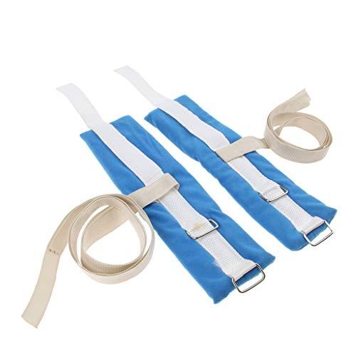Fenteer 2 Pcs Limb Holder/Restraint Strap, Restrict eldery Hand Movement Without damaging, Patient Positioners