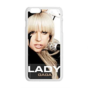 Lady Gaga Brand New And High Quality Custom Hard Case Cover Protector For Iphone 6 Plaus