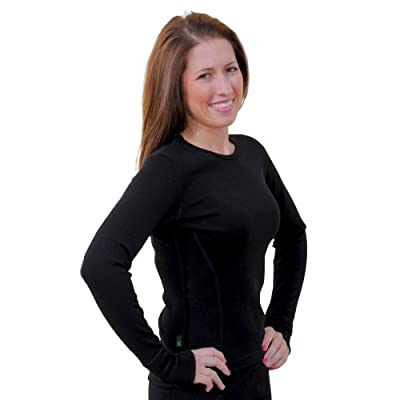 WoolX Alpine Top - Heavyweight, Moisture Wicking Women's Merino Wool Base Layer