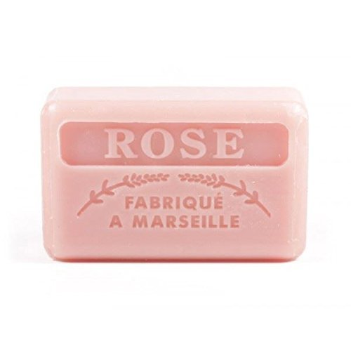 Foufour 125G Savon De Marseille Soap - Rose