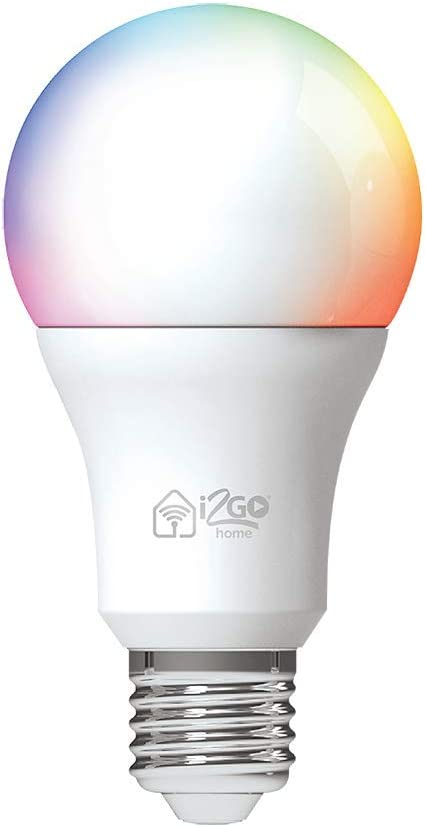 Lâmpada Inteligente Smart Lamp I2GO Home Wi-Fi LED 10W - Compatível com Alexa por I2GO