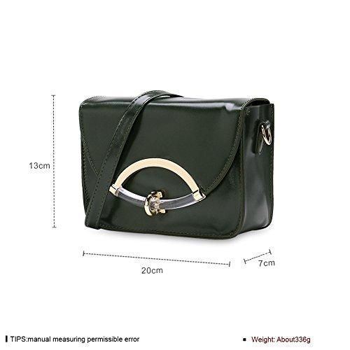 Faysting EU pelle borsa a tracolla donna borsa a spalla verde elegante buon regalo san valentino