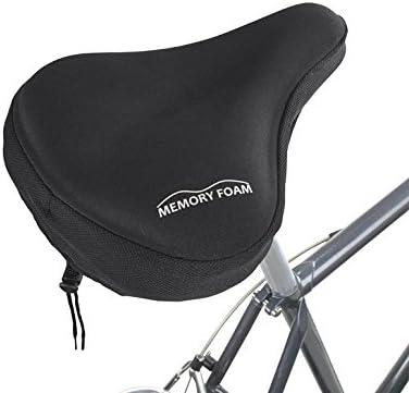 EXTRA WIDE SUPER COMFORT SPRUNG GEL BIKE SADDLE UNISEX CYCLE SEAT SHOCK ABSORBING SEAT SPRINGS BLACK BARGAIN PRICE