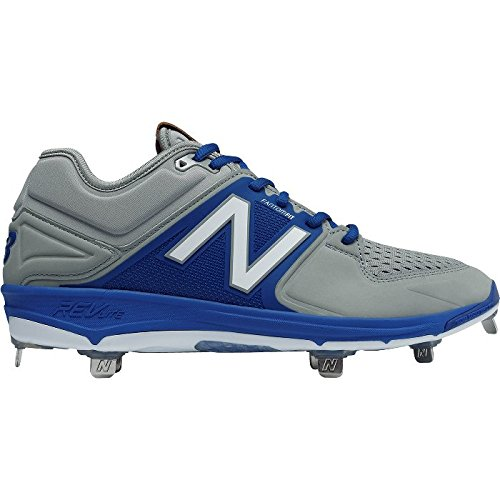 New Balance Mens L3000v3 Giallo Scarpa Da Baseball In Metallo