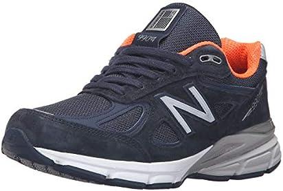 New Balance Women's W990V4 Run Shoe-W Navy 7.5 D US