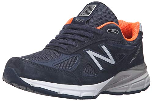 New Balance Women's W990V4 Run Shoe-W, Navy, 9 D US