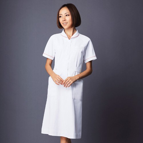 白衣 半そで 婦人物 白-L B008EDC86O