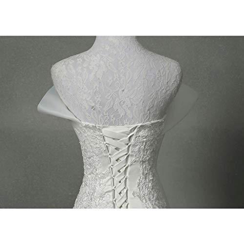 White Da Pizzo Sposa M In Abito White Cerimonia color Dimensione Y6nx6Uw