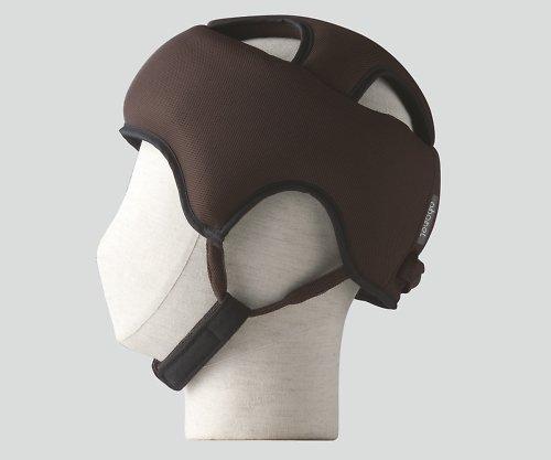 特殊衣料8-6558-03保護帽[アボネットガードAメッシュ]Lブラウン B07BD2W8ZQ