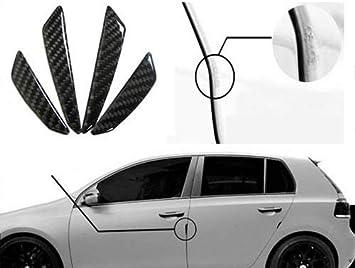 For Chervolet Carbon Fiber Auto Car Side Door Edge Protection Guard Trim Sticker