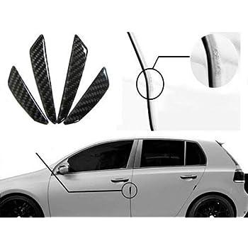Amazon Com Ijdmtoy Black Real Carbon Fiber Car Side Door