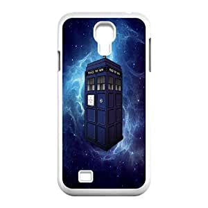 Popular Doctor Who Watercolor Tardis For SamSung Galaxy S4 Case KHR-U586120