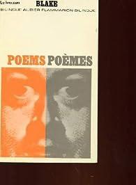 Poèmes/Poems par William Blake