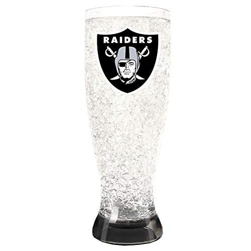 Glass Set Anaheim Ducks - Oakland Raiders Crystal Pilsners Set of 2