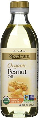Spectrum Naturals Hi Heat Organic Peanut Oil, 16 Ounce