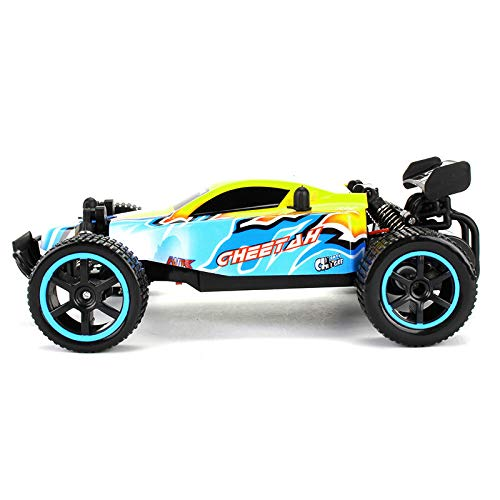 (RC Cars Rremote Control Racing Car 2.4Ghz High Speed Rock Off-Road Vehicle 1:20 2WD Radio Remote Control Racing Toy Cars Electric Fast Race Buggy Hobby Car Green)