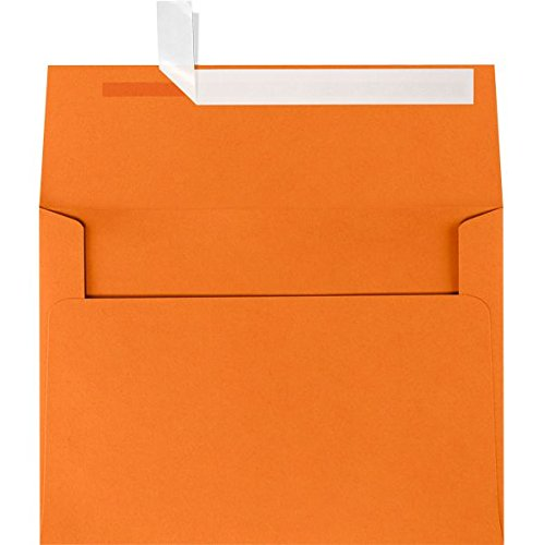 A9 Invitation Envelopes (5 3/4 x 8 3/4) - Mandarin Orange (50 Qty.) | Perfect for Invitations, Greeting Cards, Thank You Cards, Announcements and so much more! | EX4895-11-50 ()