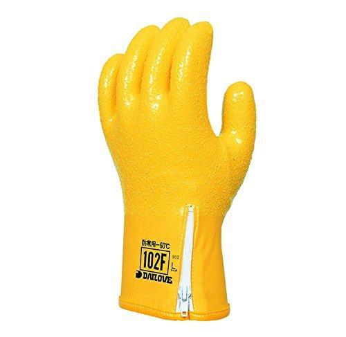 【10双セット販売】ダイヤゴム 防寒用手袋 ダイローブ102F (LL) B07D291M4Q  LL