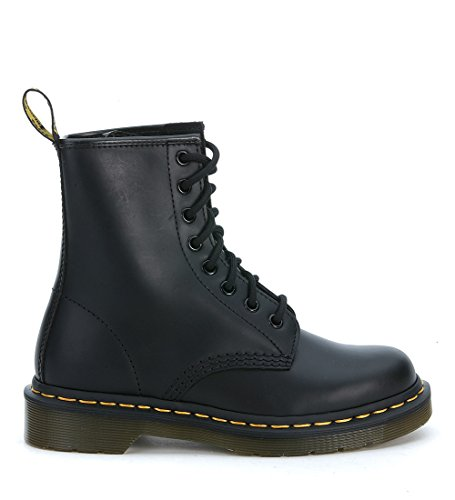(Dr. Martens 1460 Originals 8 Eye Lace Up Boot,Black Smooth Leather,5 UK (6 M US Mens / 7 M US Womens))