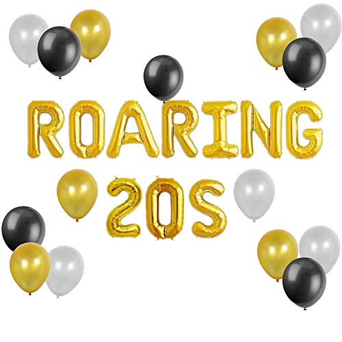 The Great Gatsby Decoration - JeVenis Roaring 20s Balloons Great Gatsby