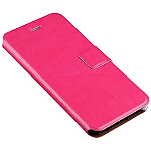 """Golden_fame (Stand Feature) iPhone 6 Case with STAND Flip Cover for iPhone 6 (4.7"""")-HB02-Rose red"""