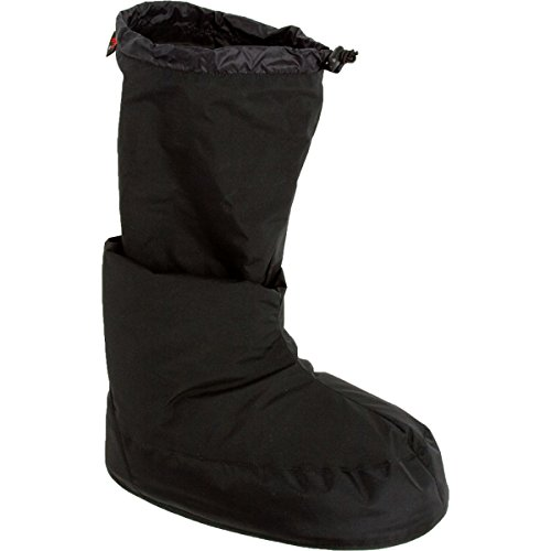 (Western Mountaineering Expedition GWS Bootie - Men's Black, XL)