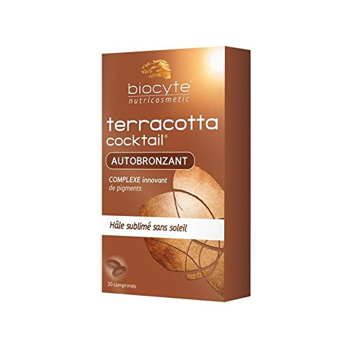 Tanning Cocktail - Biocyte Terracotta Cocktail Self-Tanning 30 Tablets by Biocyte