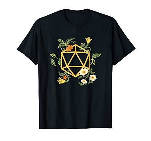 Geeky Polyhedral D20 Dice Set Plant Nerdy