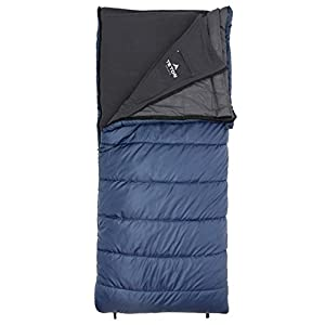 TETON Sports Polara 3-in-1 Sleeping Bag; Great for All Season Camping, Fishing, and Hunting; Versatile Outdoor Sleeping Bag; Lightweight, Washable Inner Fleece Lining; Compression Sack Included