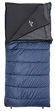 TETON Sports Polara 3-in-1 Sleeping Bag Great for All Season Camping, Fishing, and Hunting Versatile Outdoor Sleeping Bag Lightweight, Washable Inner Fleece Lining Compression Sack Included