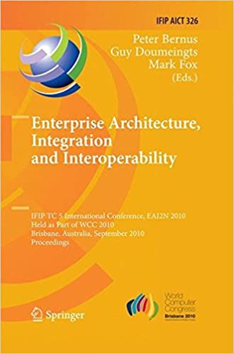 Enterprise Architecture, Integration and Interoperability (IFIP Advances in Information and Communication Technology)