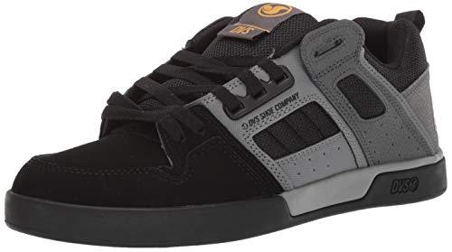 DVS Men's COMANCHE 2.0+ Shoe, black/grey new black, 12 Medium US