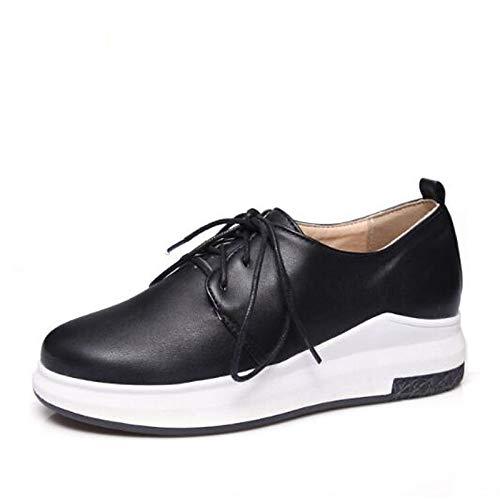 Zapatos Poliuretano Heel de Rhinestone Comfort Spring Negro White ZHZNVX PU Suede Mujer Flat Toe Round Sneakers Blanco 4qXCdB