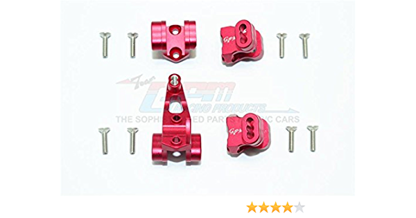 Traxxas TRX-4 Trail Defender Crawler Upgrade Parts Aluminum Front Adjustable Steering Link /& Suspension Link 3Pcs Set Red